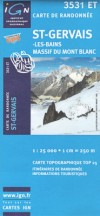 3531 ET <BR><STRONG>Mt.Blanc: St.Gervais<BR></STRONG>(1:25.000, 2008)