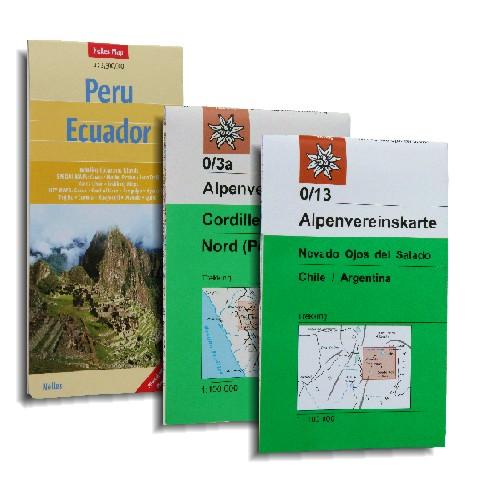 Equador, Peru und Bolivien