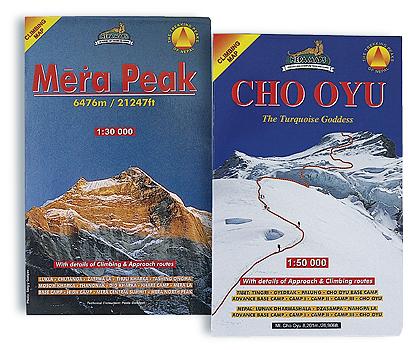 Trekking- und Expeditionskarten weltweit