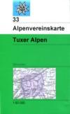 33 S Tuxer Alpen, 1:50.000 title=