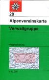28 Verwallgruppe 1:50.000 title=