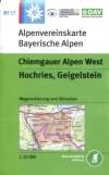 Blatt BY 17: Chiemgauer Alpen West title=