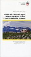 Hütten der Schweizer Alpen title=