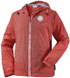 <p><strong>Windbreaker<br /></strong>100% Ripstop-Nylon<br />Farbe: rot, Größen S - XXL</p>