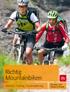 Richtig Mountainbiken Technik   Training   Tourenplanung title=