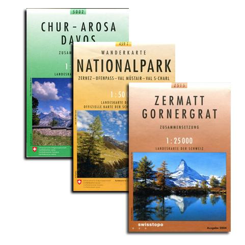 Schweizer Landeskarten