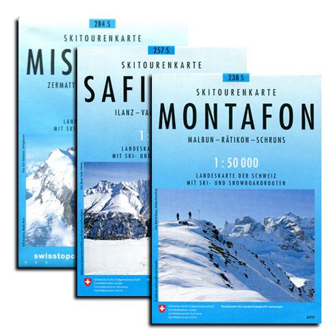 Skitourenkarten 1:50.000