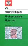 2/2 Allgäuer-Lechtaler Alpen, östliches Blatt title=