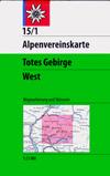 15/1 Totes Gebirge, westl. Blatt title=