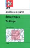 30/2 Ötztaler Alpen, Weißkugel title=
