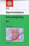 5/3 Karwendelgebirge, östl. Blatt title=