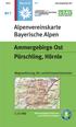 Blatt BY 7: Ammergebirge Ost title=