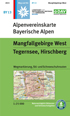 Blatt BY 13: Mangfallgebirge West title=