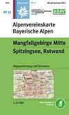 Blatt BY 15: Mangfallgebirge Mitte title=