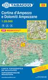 Blatt 03: Cortina d'Ampezzo e Dolomiti Ampezzane  title=