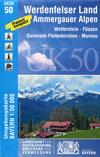 UK50-50 Werdenfelser Land -Ammergauer Alpen title=