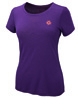 Merino Frauen T-Shirt 150 Ultralight - Pflaume