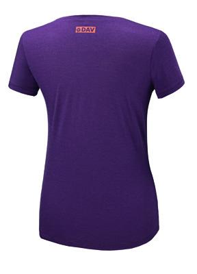 Merino Frauen T-Shirt 150 Ultralight - pflaume