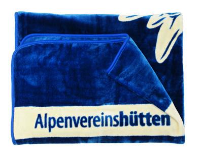 Alpenvereins-Winterdecke blau