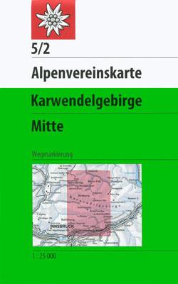 5/2 Karwendelgebirge, mittl. Blatt