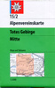 15/2 Totes Gebirge, mittl. Blatt title=