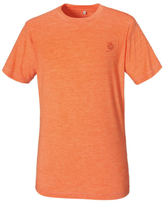 Merino Shirt Männer - Racer Orange