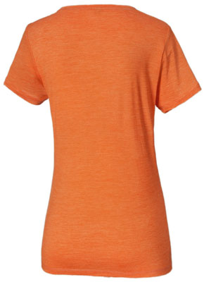 Merino Shirt Frauenl - Racer Orange