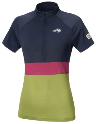 Maloja Frauen Short Sleeve Bike Jersey - Lomasti