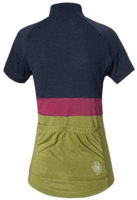 Maloja Frauen Short Sleeve Bike Jersey - Lomasti