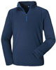 Männer Long Sleeve Quarter Zip - Dress Blue title=