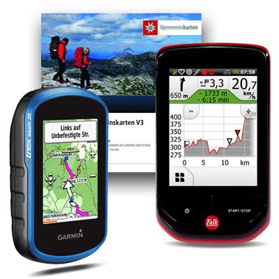 GPS Geräte und Zubehör