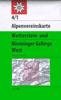 4/1 Wetterstein und Mieminger Gebirge, West title=