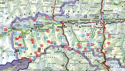 Hohe Tauern Karte.Dav Shop Artikeldetails Hohe Tauern Nationalpark Nord Rother