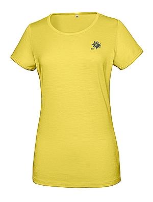 Merino Frauen T-Shirt 150 Ultralight - gelb