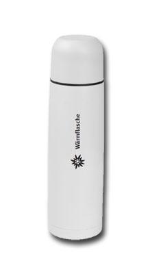 Isolierflasche 0,5l weiß