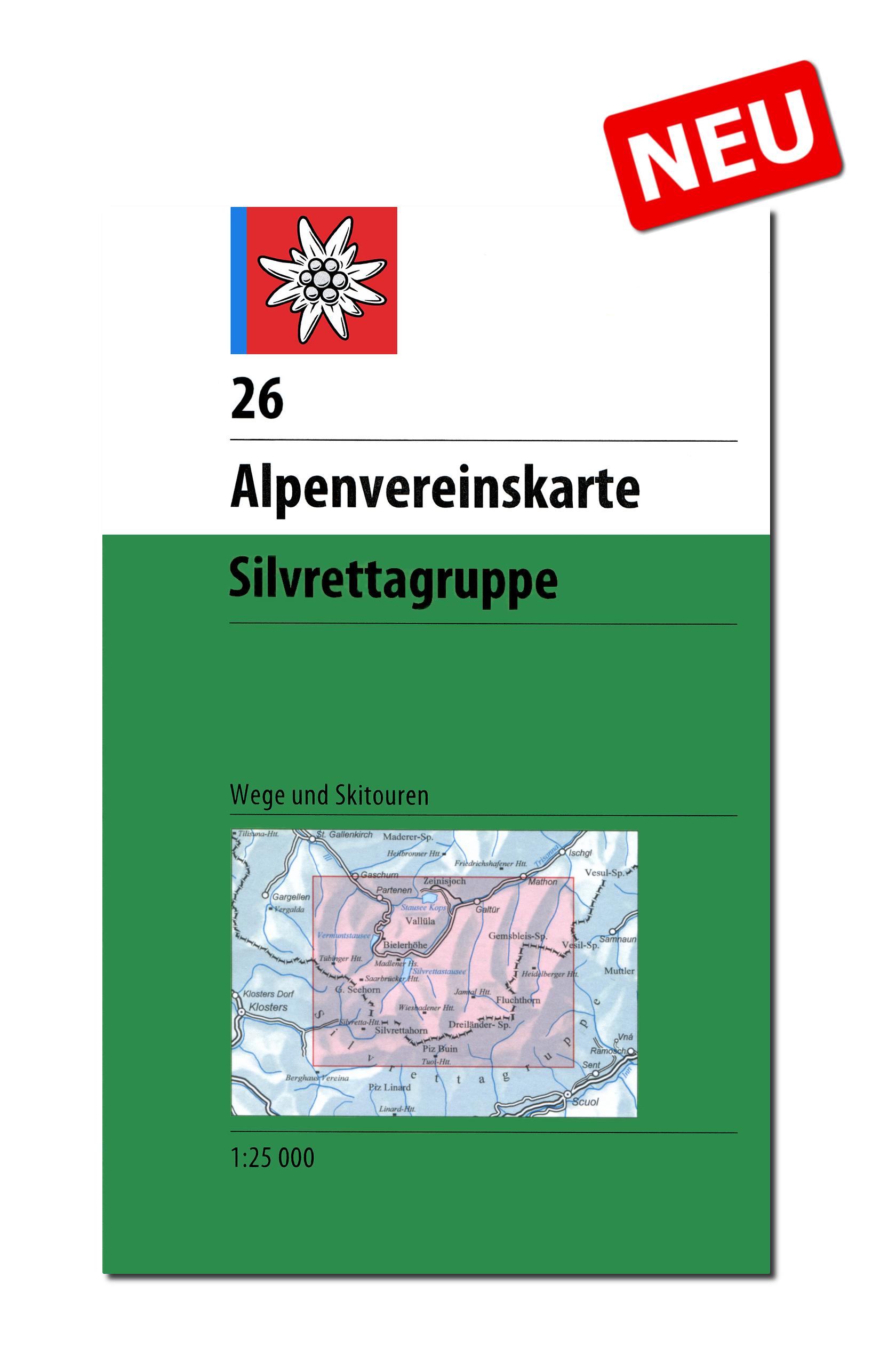 26 Silvrettagruppe