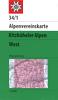 34/1 Kitzbühler Alpen West 1:50.000 title=