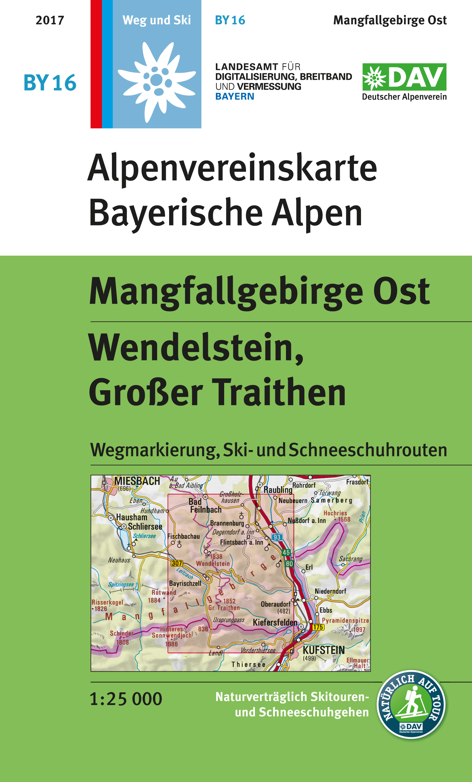 BY16 Mangfallgebirge Ost, Wendelstein, Gr. Traithen
