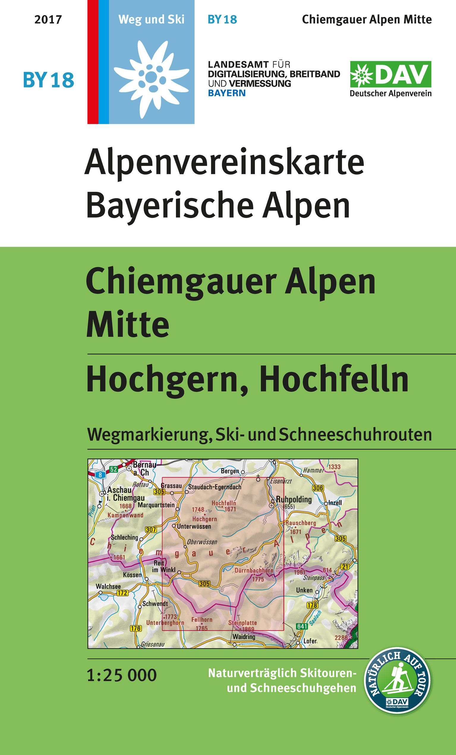 BY18 Chiemgauer Alpen Mitte