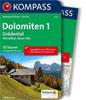 Dolomiten - Gröden (Kompass-Wanderführer) title=