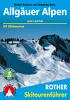 Allgäuer Alpen und Lechtal (Rother Skiführer) title=
