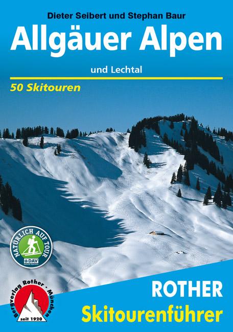 Allgäuer Alpen und Lechtal (Rother Skiführer)