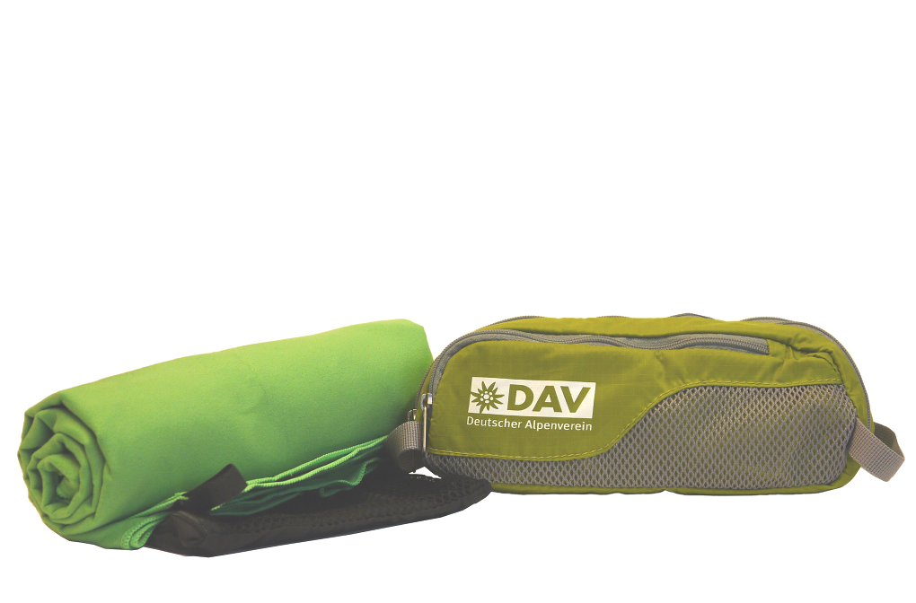 SET DAV Wash Bag mit Handtuch L