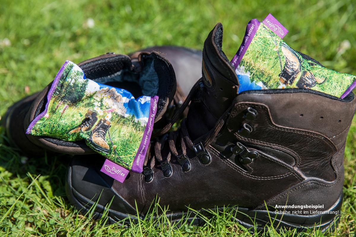 DUFFIES - Anti-Geruchs-Kissen für Schuhe