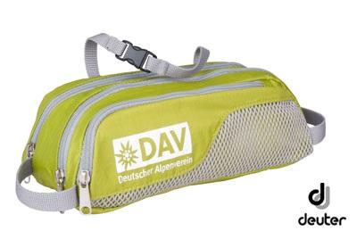 DAV Wash Bag moosgrün