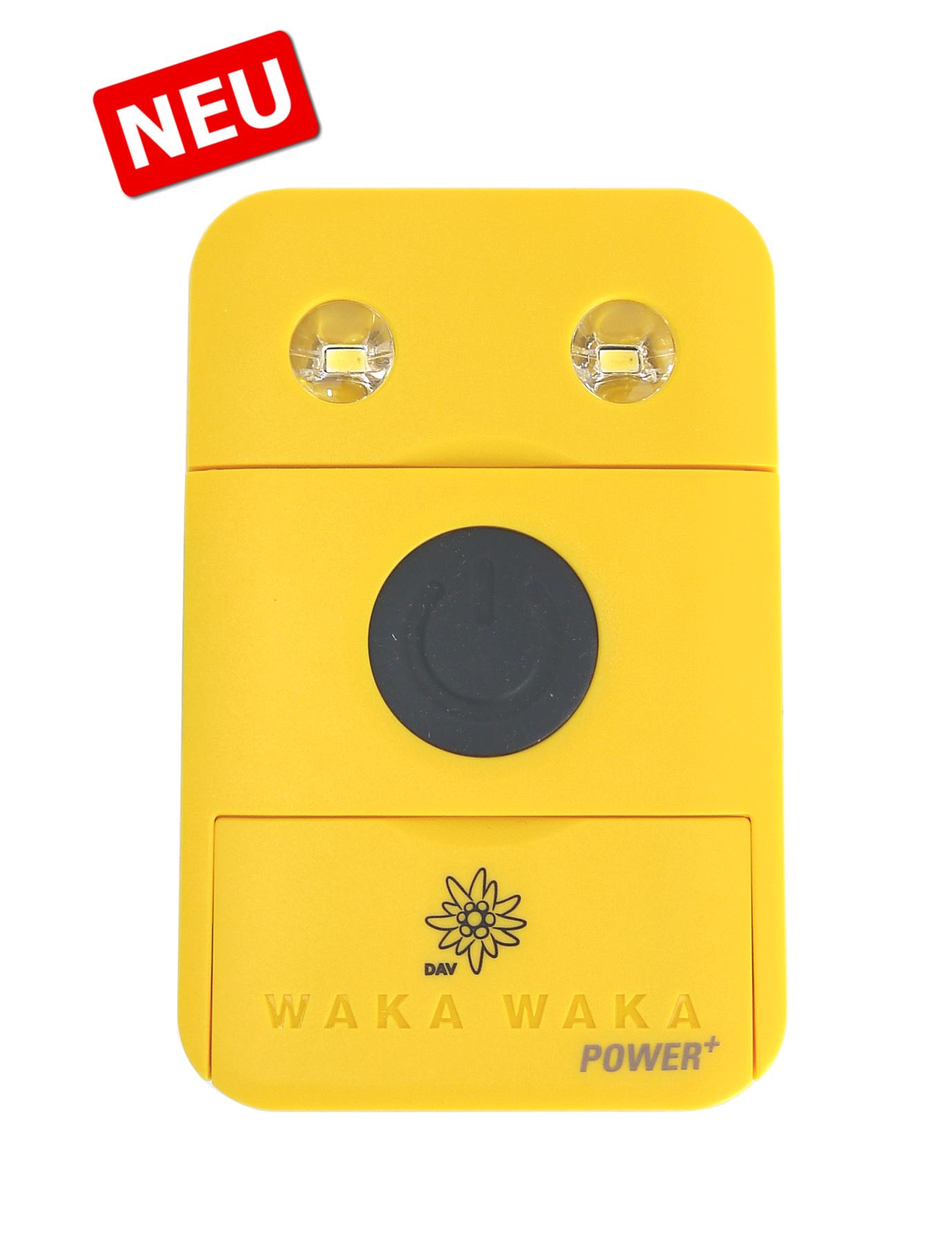 """WAKA WAKA Power+ Powerbank """"Edition DAV"""""""