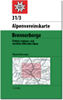31/3 Stubaier Alpen, Brennerberge 1:50.000 title=