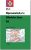 35/3 Zillertaler Alpen, östl. Blatt title=