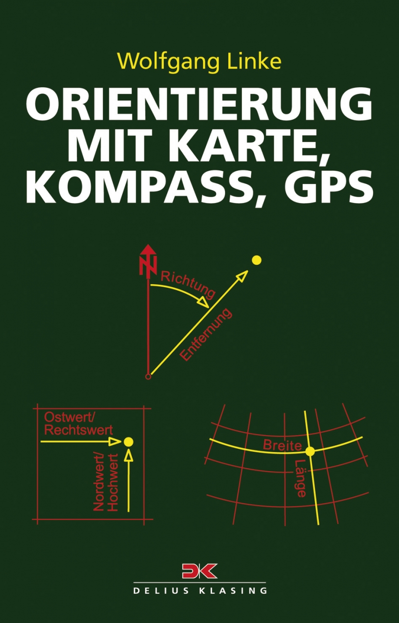 ORIENTIERUNG mit Karte - Kompass - GPS