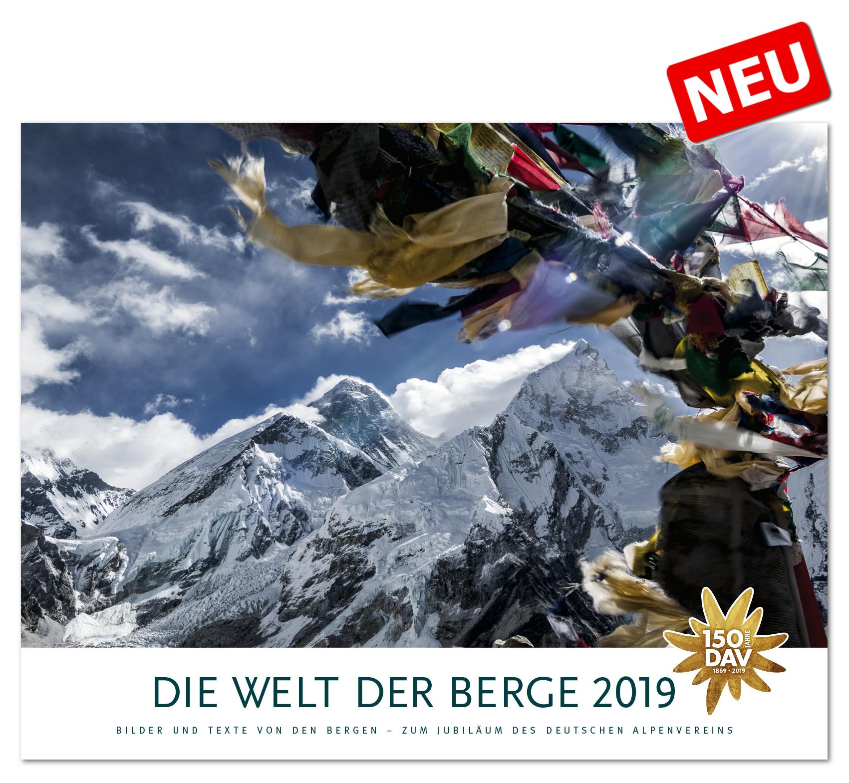 DAV Die Welt der Berge 2019 Kalender